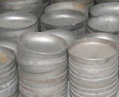 316L Stainless steel buttweld pipe cap manufacturing